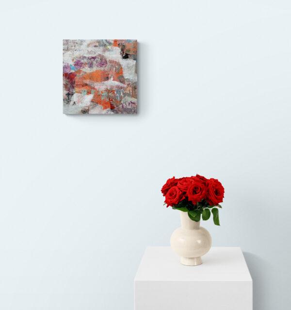 Abstract 7170 gepresenteerd in een kamer