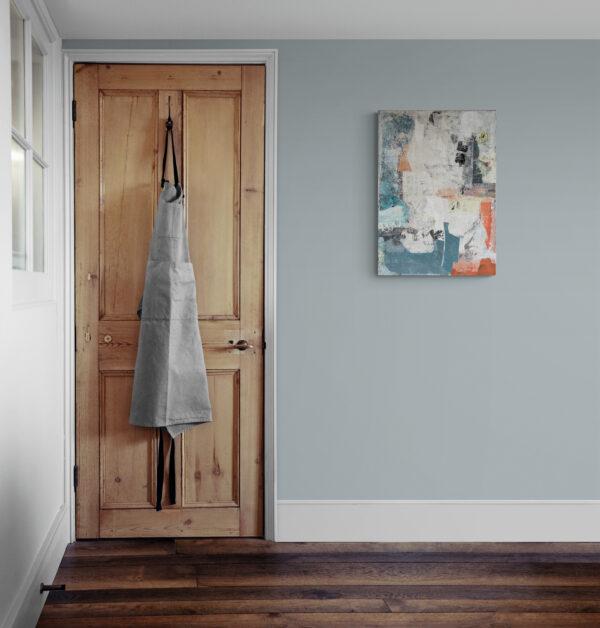 Abstract 7176 gepresenteerd aan de muur